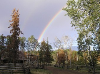 Siwash Lake Ranch - rainbow